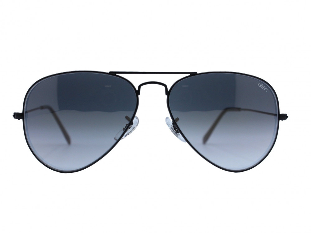 نظاره شمسية بيضاوي  من ماركة ELLEN لون العدسة اسود مدرج