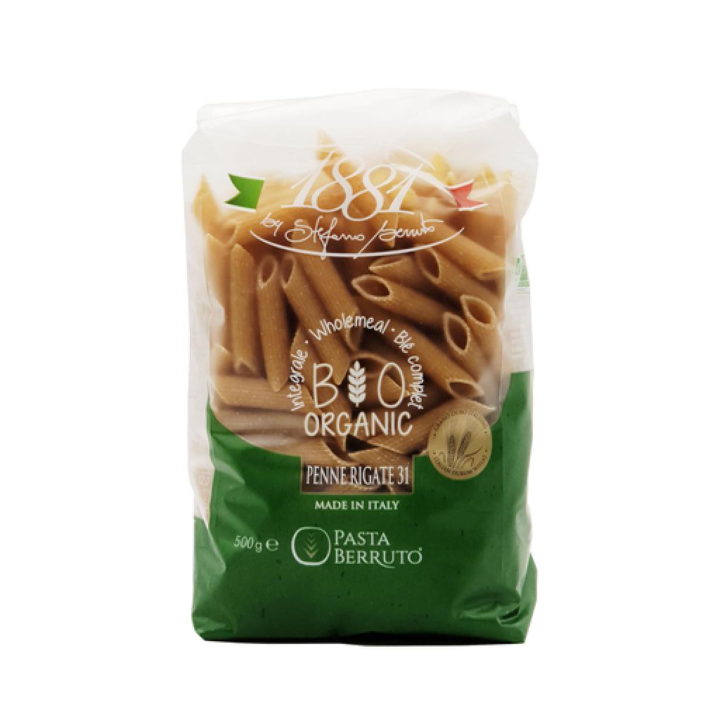 مكرونة القمح الكامل بيني عضوي 500 جرام