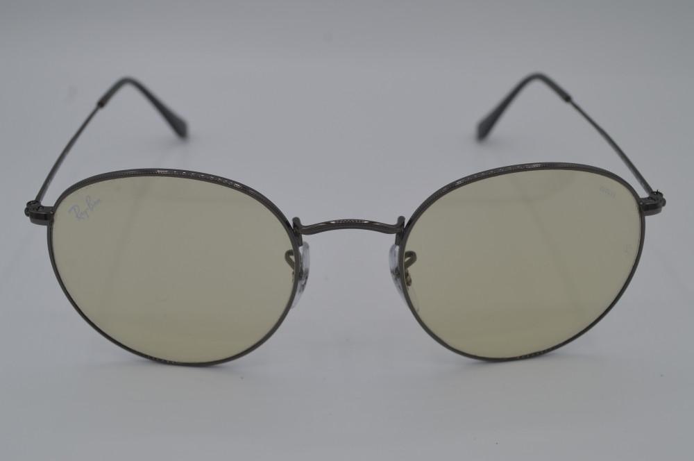 راي بان Ray ban نظارات شمسية رجالية لون العدسة Evolve light green