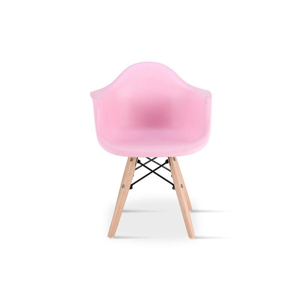 رؤية مباشرة للكرسي وأمامية في طقم كراسي أطفال نيت هوم وردي من يوتريد
