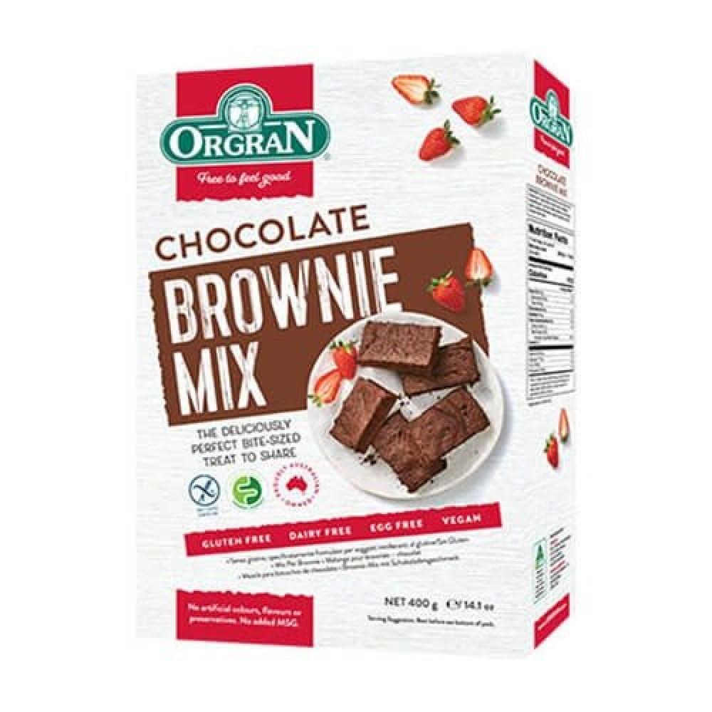 خليط براوني الشوكلاته خالي من الجلوتين 400 جرام