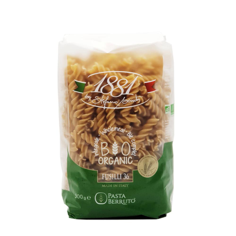 مكرونة القمح الكامل فوسيلي عضوي 500 جرام