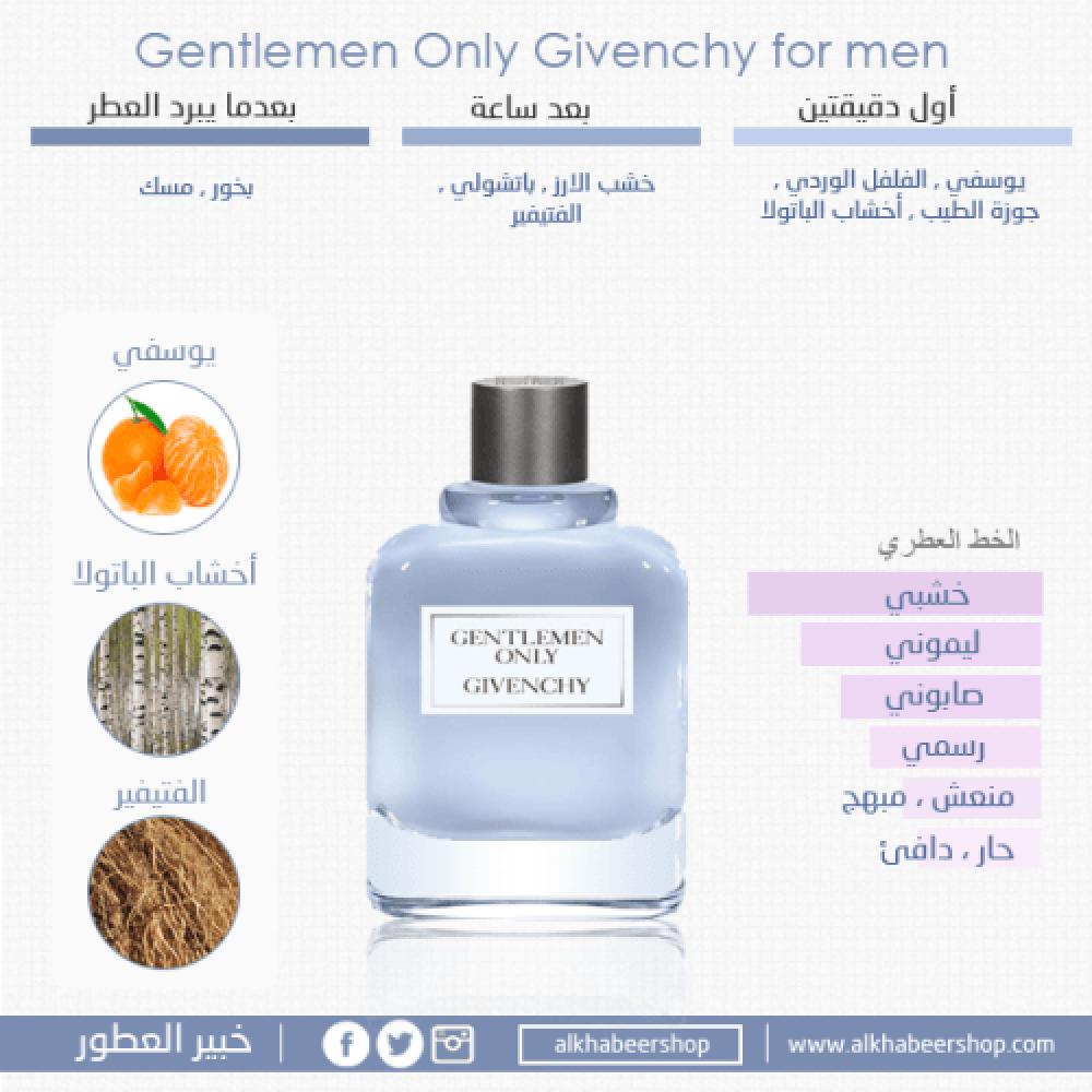Givenchy Gentlemen Only Eau de Toilette 100ml متجر خبير العطور