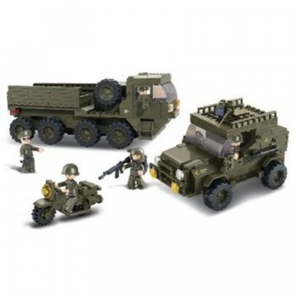 سلوبان, قطع تركيب كتيبة الجيش, ألعاب, Toys, Sluban