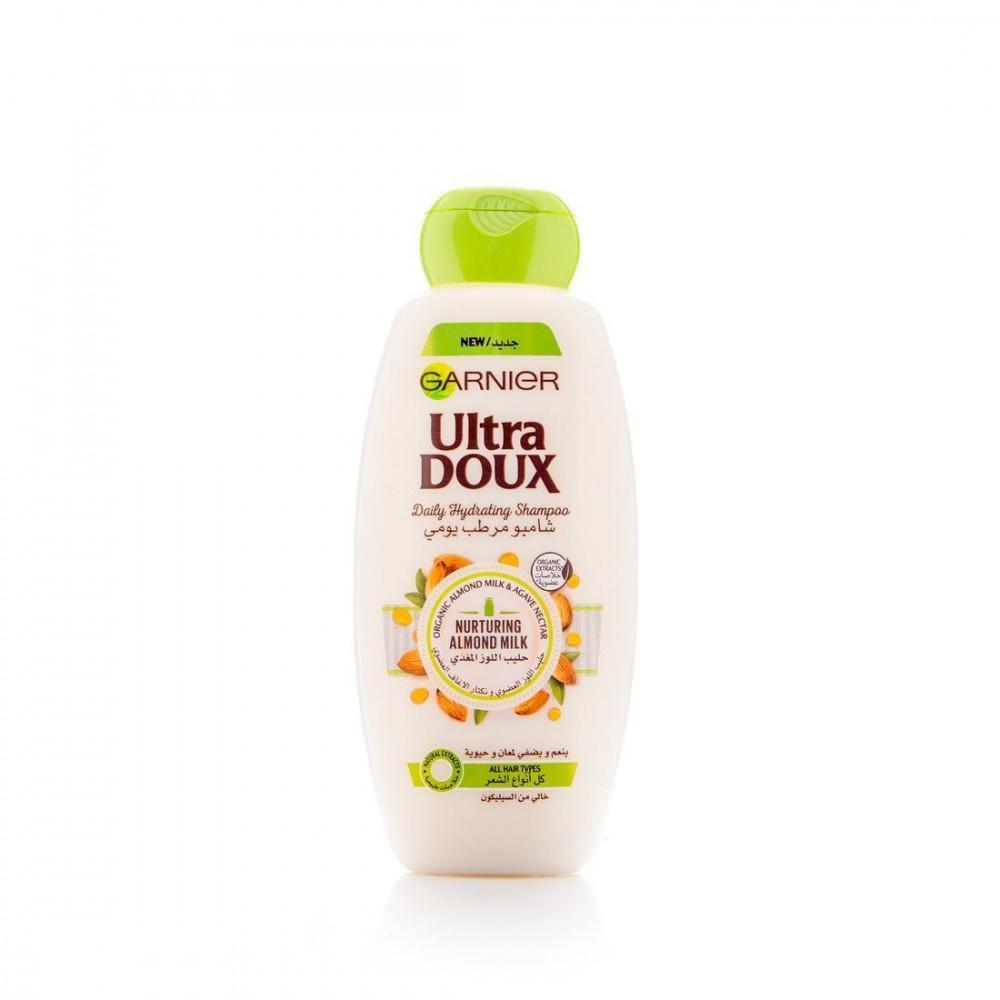 شامبو الترا دوكس مرطب بحليب اللوز من غارنييه - 400 مل