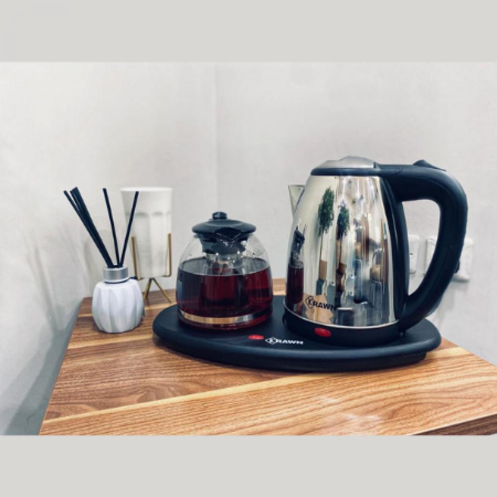 غلاية فندقية ابريق الشاي قهوه كراون غليان الماء كوب ابريق كهرباء اقل ط