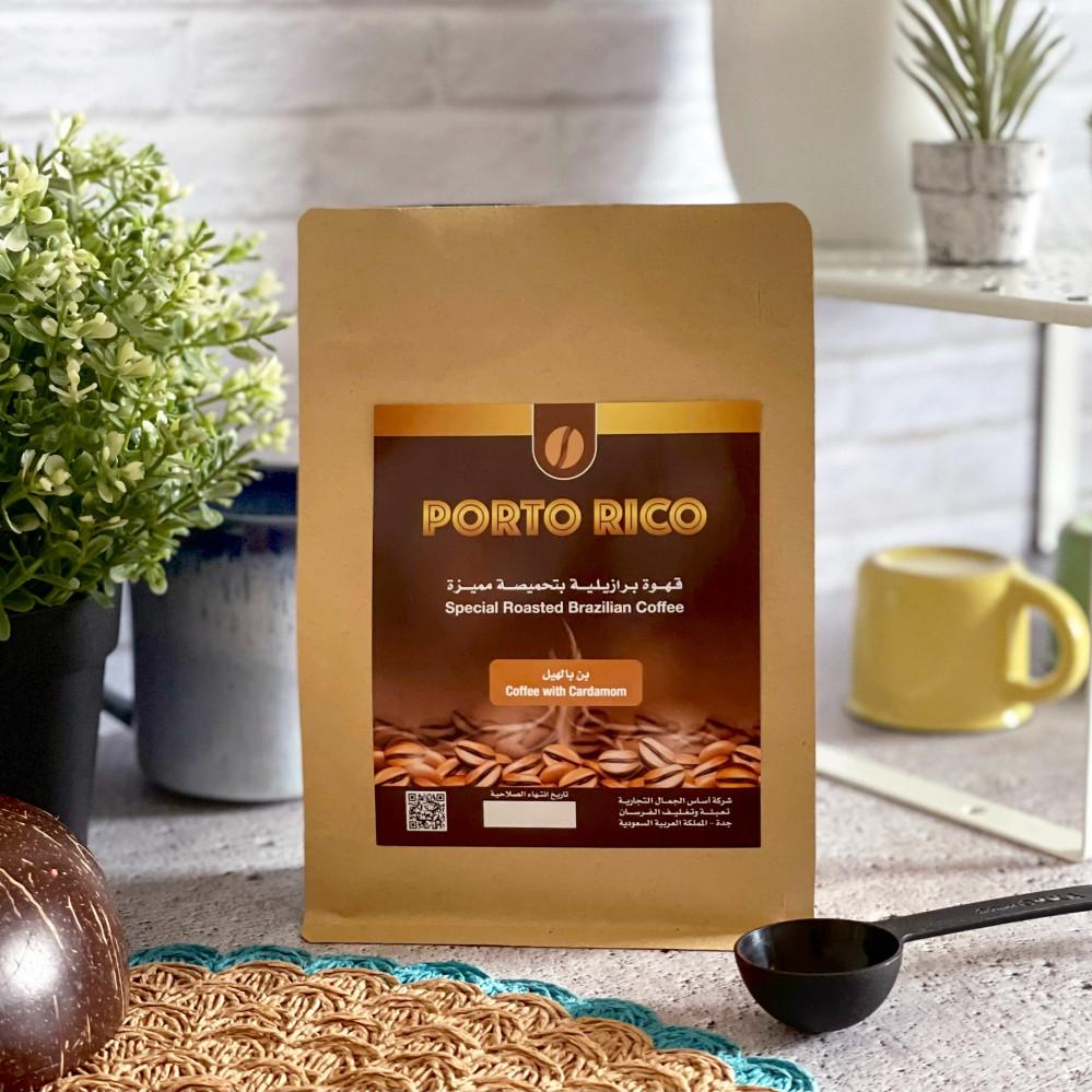 قهوة صباح كافيين مزاج قهوة بن بالهيل بورتو ريكو تحميصة مميزة نكهة خاصة