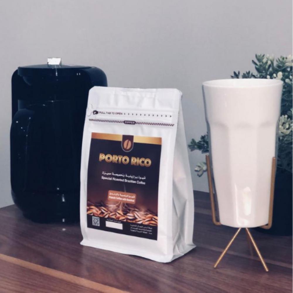 قهوة بورتو ريكو قهوة مميزة بالبندق مزاج حليب افضل انواع القهوة قهوة با