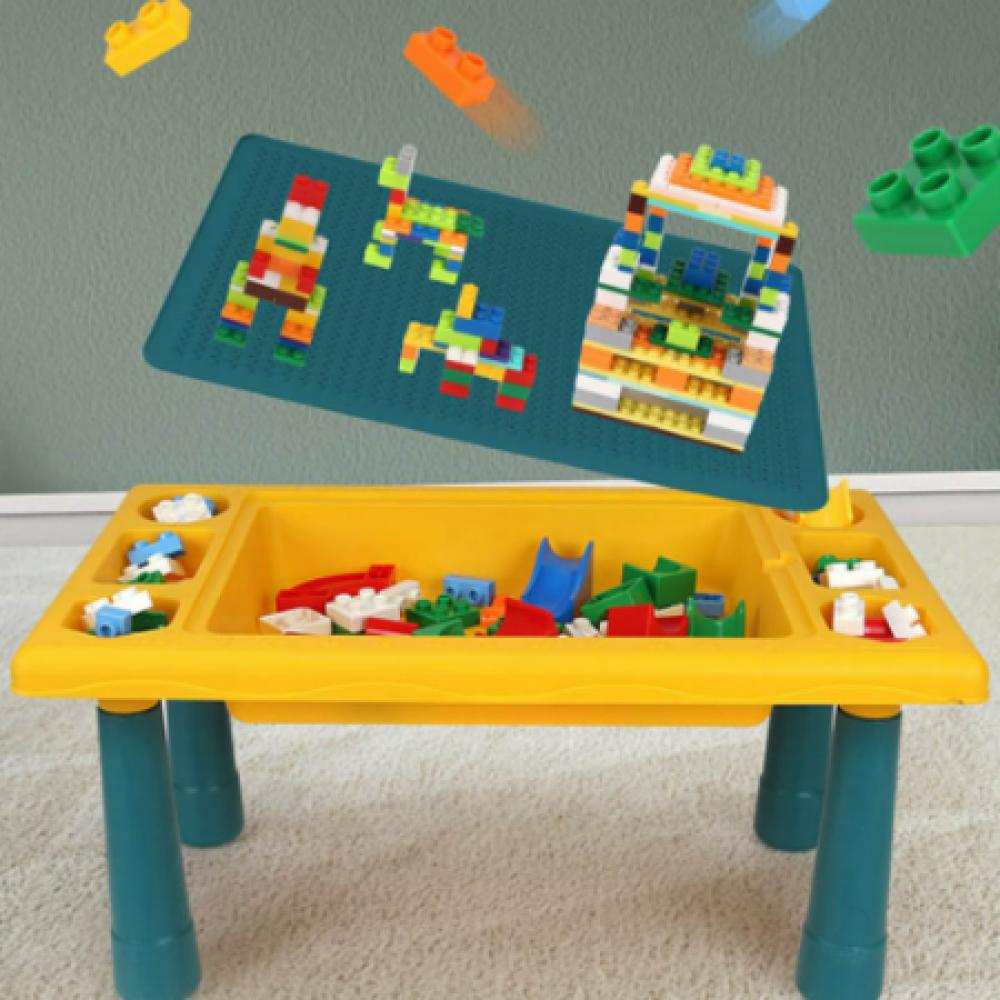 وقت فراغ دراسة الوان اشكال للاطفال متعددة الوظئف مرح مدرسة طاولة متعدد