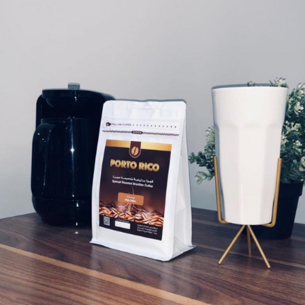 قهوة صباح كافيين مزاج قهوة بن سادة بورتو ريكو تحميصة مميزة نكهة خاصة