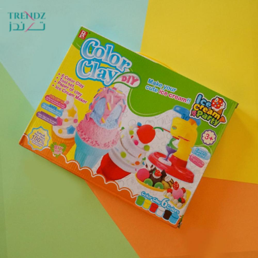 مجموعة الالعاب اشكال مختلفه صالح للأكل صانع الأيس كريم لعبة اطفال بروج