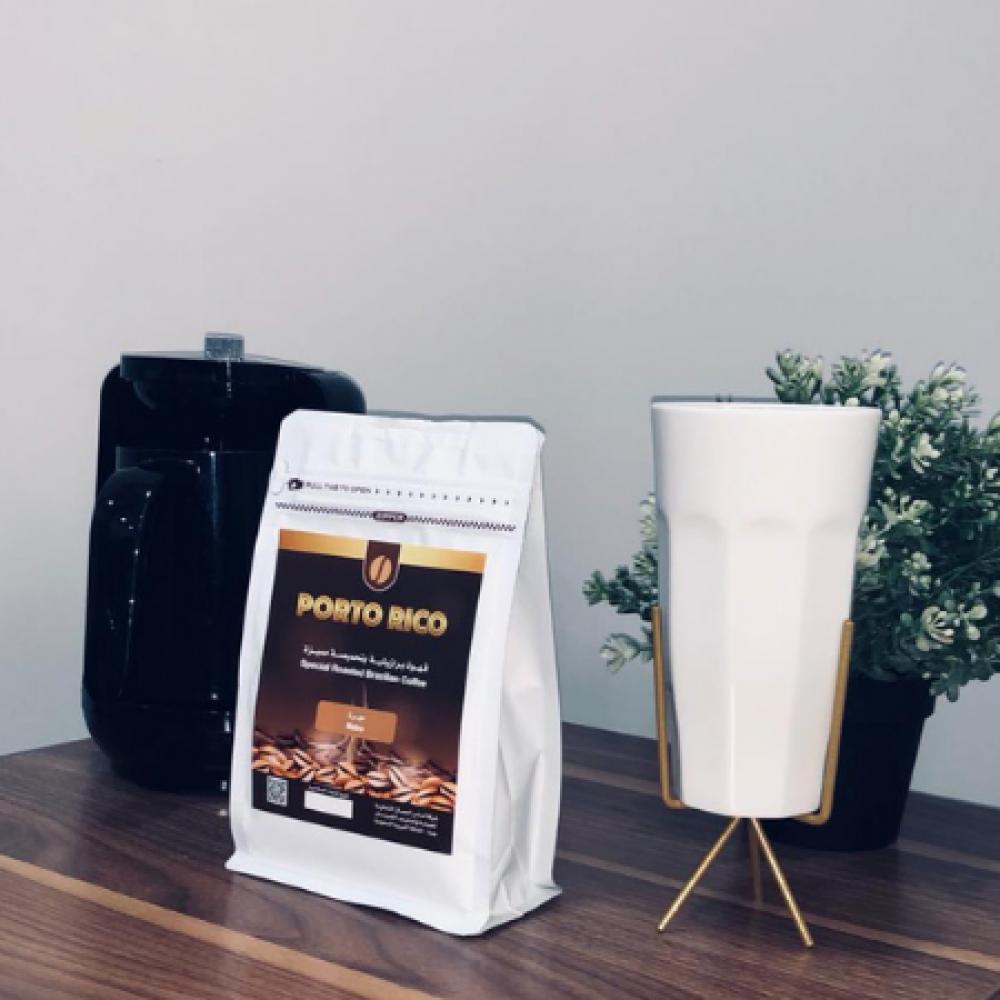 بورتو ريكو قهوة برازلية مختصة صباح كافيين مزاج قهوة مهرة جوز الهند طعم