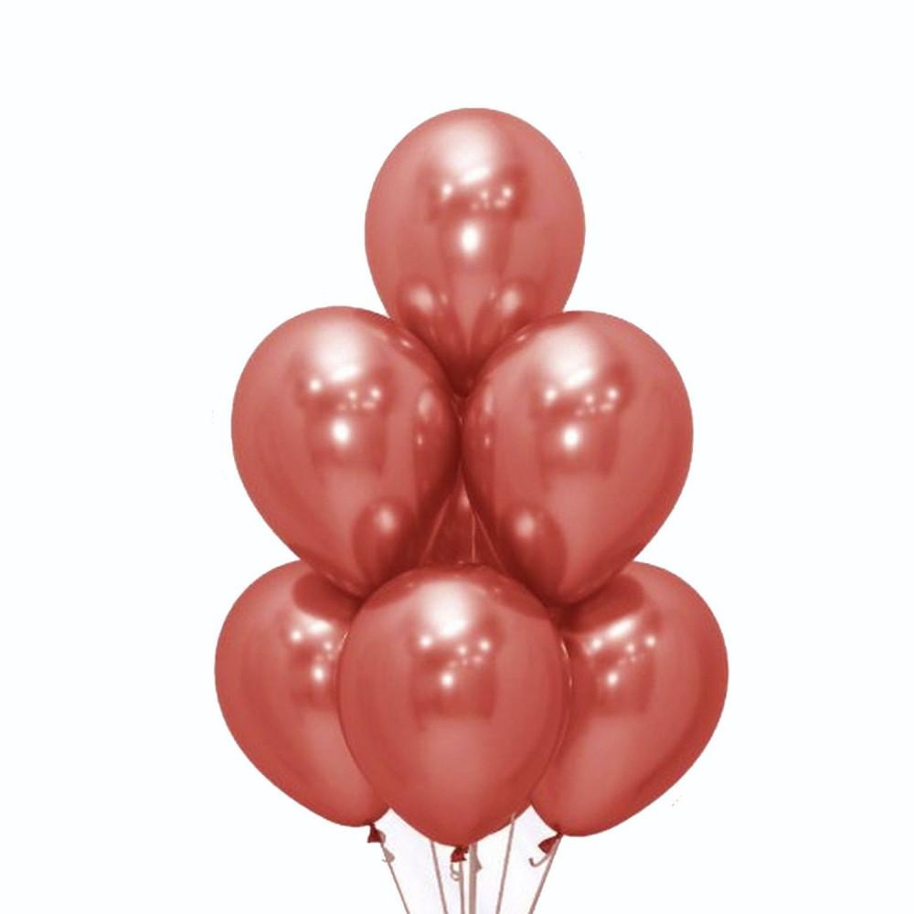 بالونات لون روز قولد بالونات هيليوم بالونات العيد ثيم حفلة خطوبة