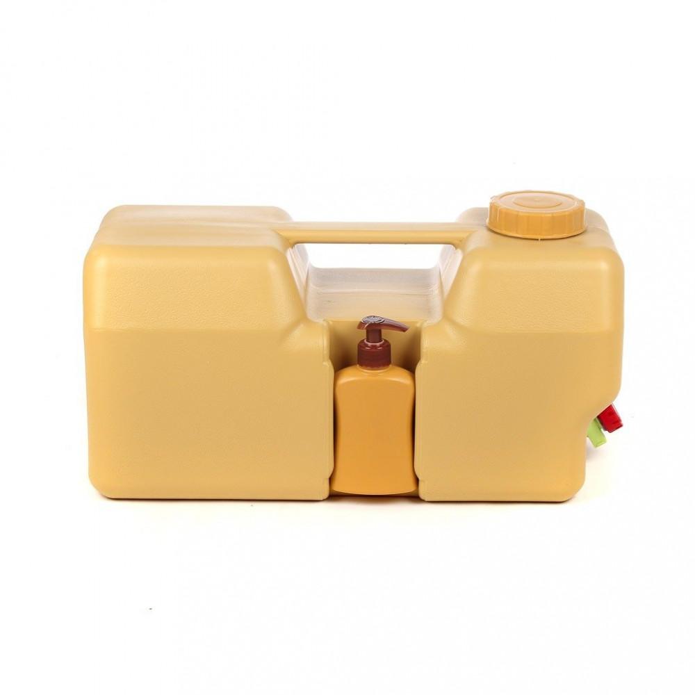 جركل - مغسلة البركة 20 لتر مع بزبوز وعلبة صابون