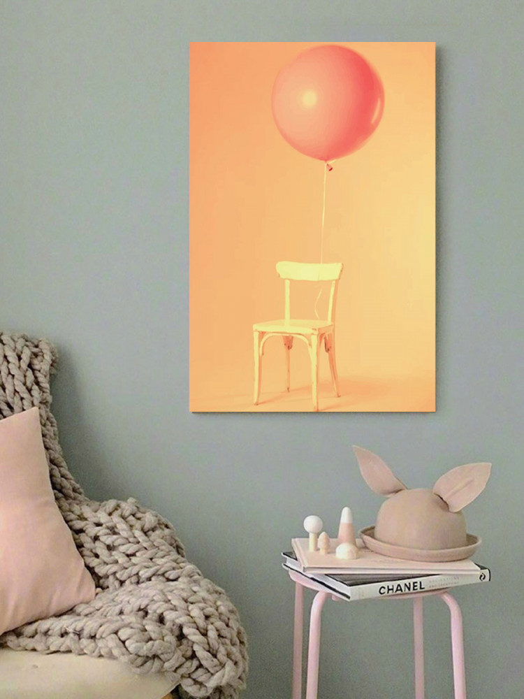 لوحة البالون خشب ام دي اف مقاس 40x60 سنتيمتر