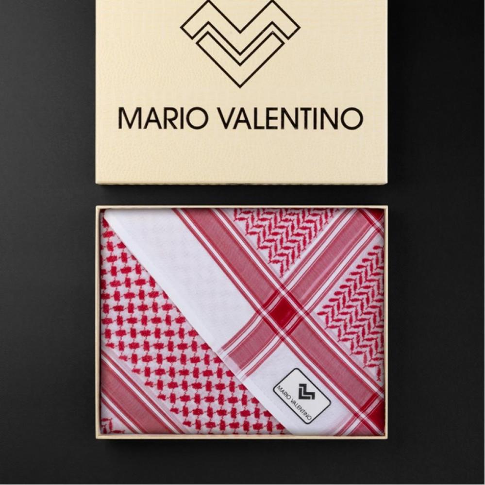 شماغ ماريو فالنتينو أحمر الجديد SV0R14