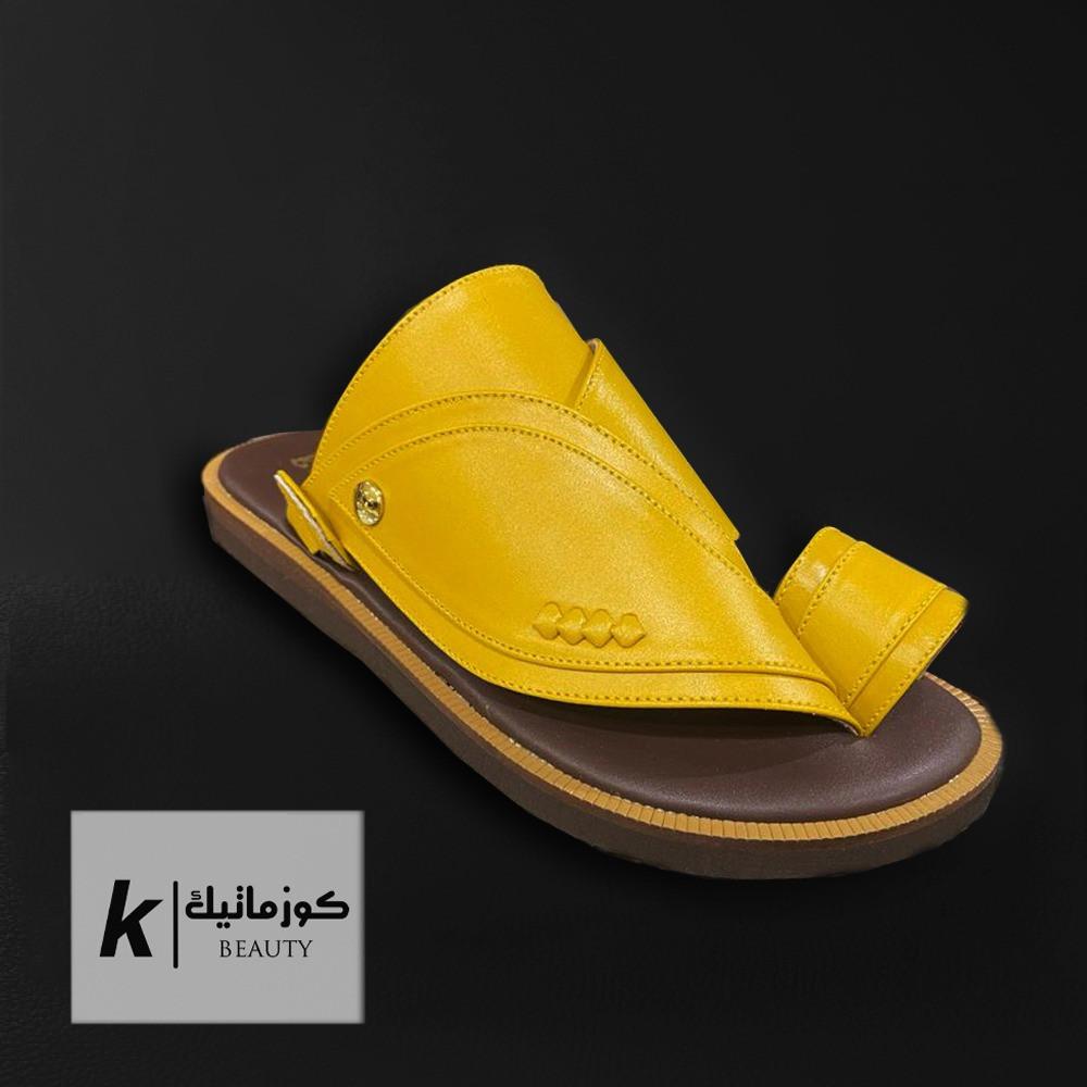 حذاء شرقي اصفر KE 613 كوزماتيك
