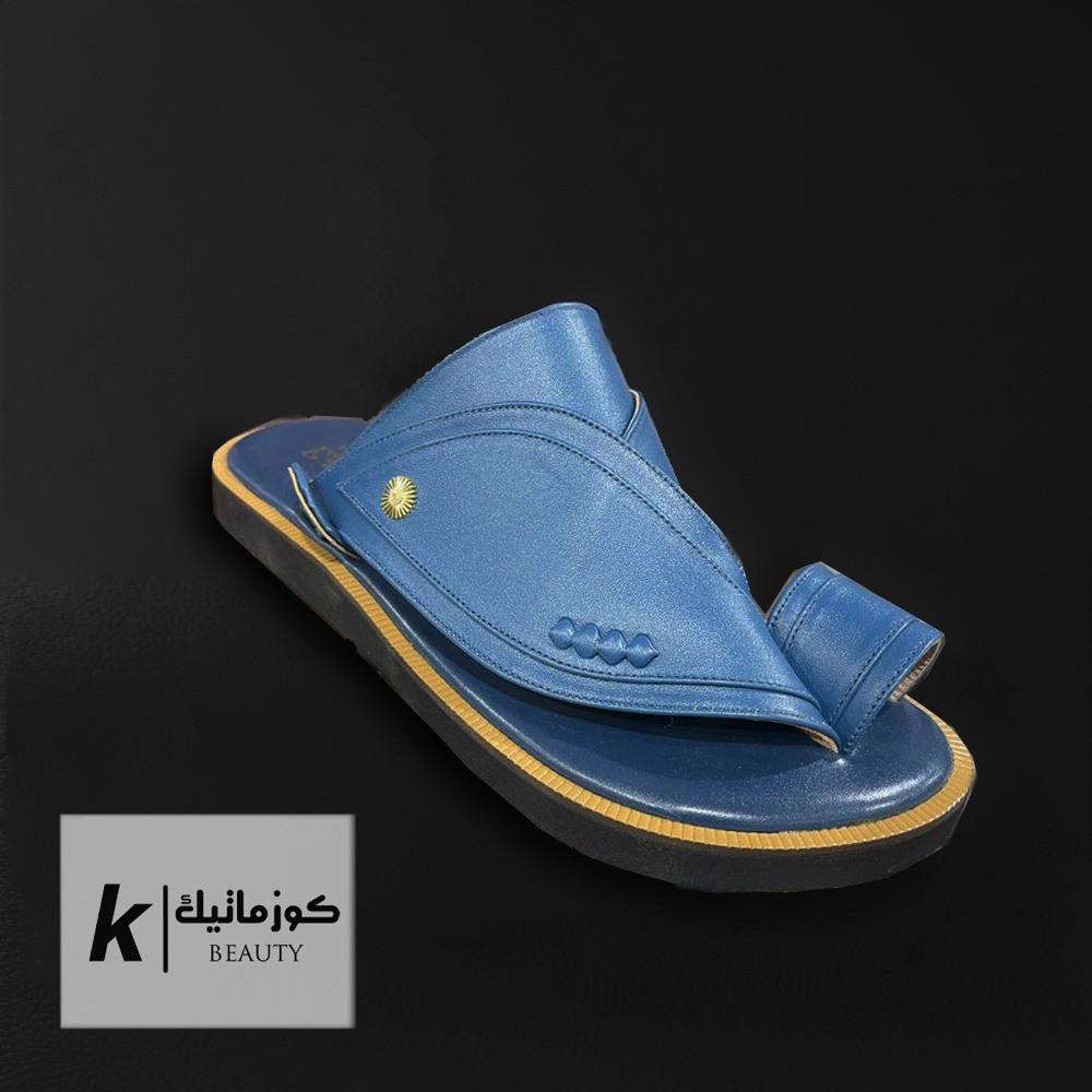 حذاء شرقي ازرق  KE 611 كوزماتيك