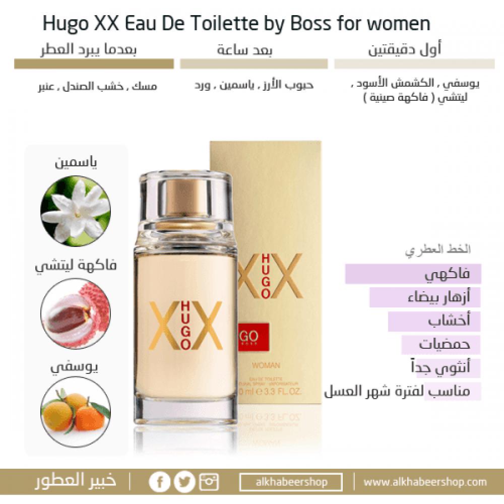 Hugo Boss XX Eau de Toilette 100ml متجر خبير العطور
