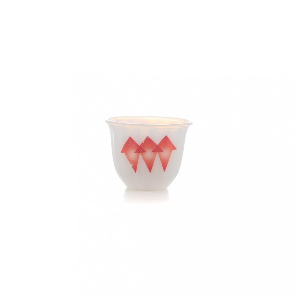 فنجان الكيف اركوبال احمر كبير