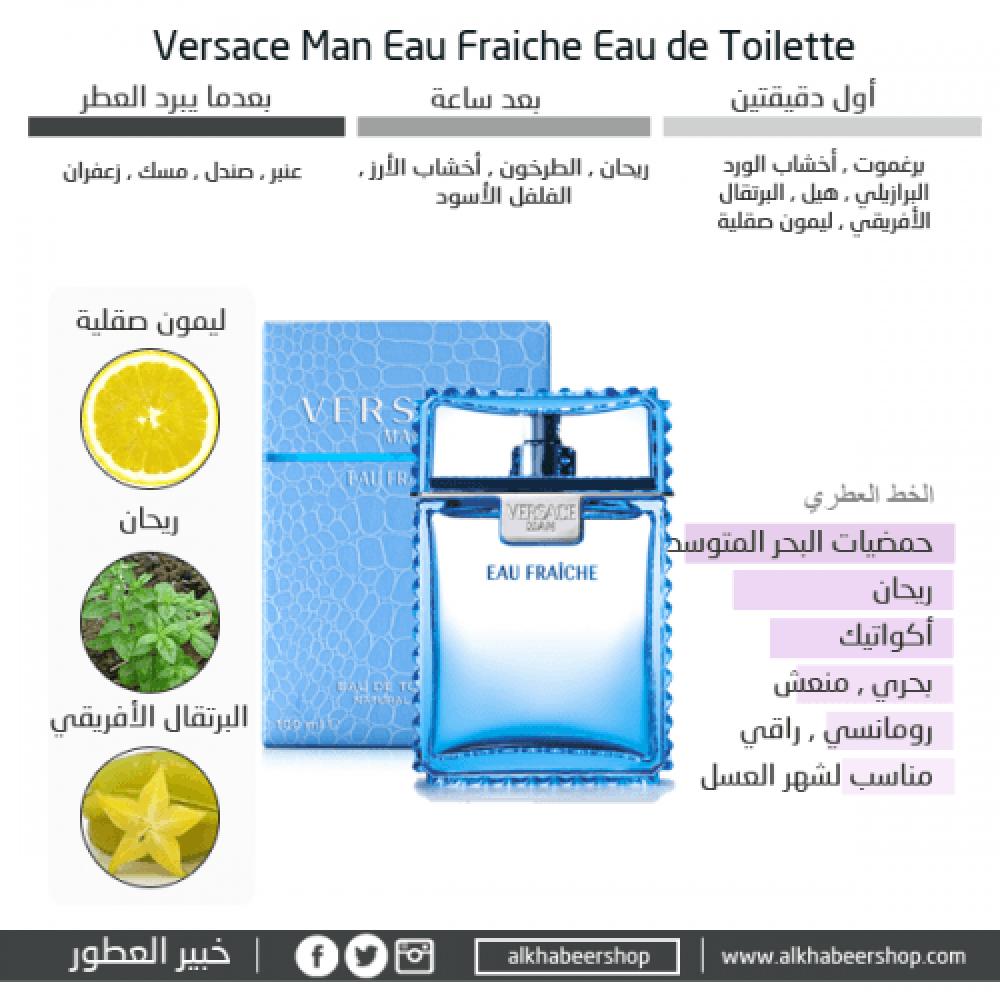 Versace Eau Fraiche Eau de Toilette 100ml خبير العطور