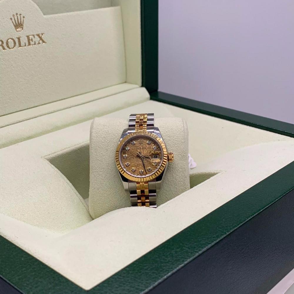 ساعة رولكس ديت جست الاصلية الثمينة مستخدمة للبيع