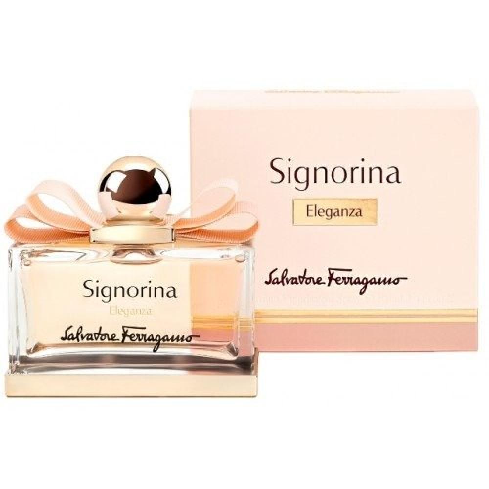 Salvatore Ferragamo Signorina Eleganza Eua de Parfum 100ml متجر خبير ا