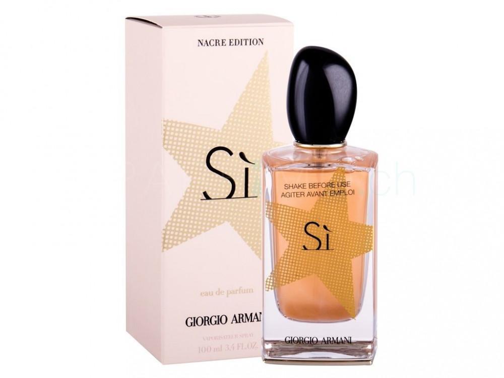 Armani Sì Nacre Edition Eau de Parfum 100ml متجر خبير العطور