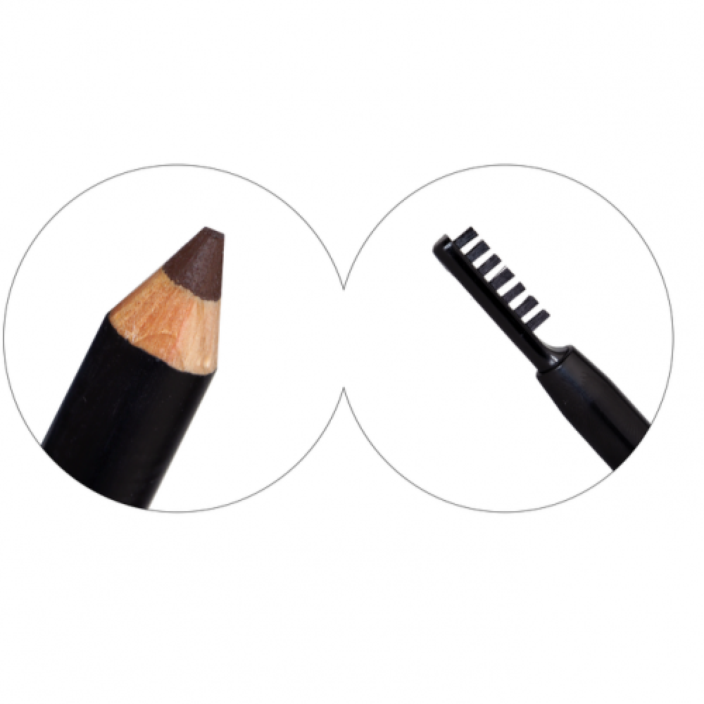 Strawberry Eyebrow Pencil with one side brush No42