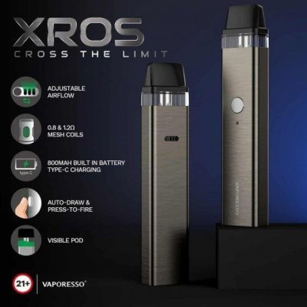 سحبة فابوريسو اكس روز - VAPORESSO XROS Kit - فيب سعودي السعودية الرياض