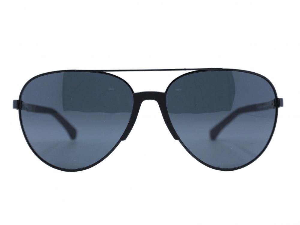 نظاره شمسية بيضاوي من ماركة  EMPORIO- ARMANII  لون العدسة اسود