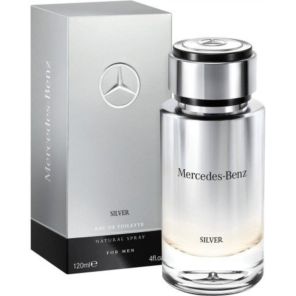 Mercedes Benz Silver Eau de Toilette 120ml خبير العطور