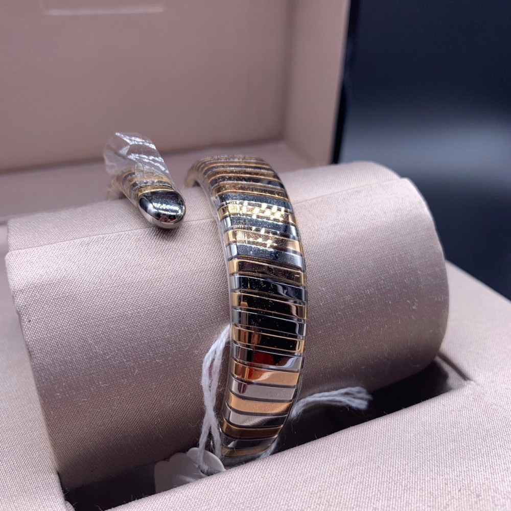ساعة بولغري الثعبان الأصلية الثمينة جديدة