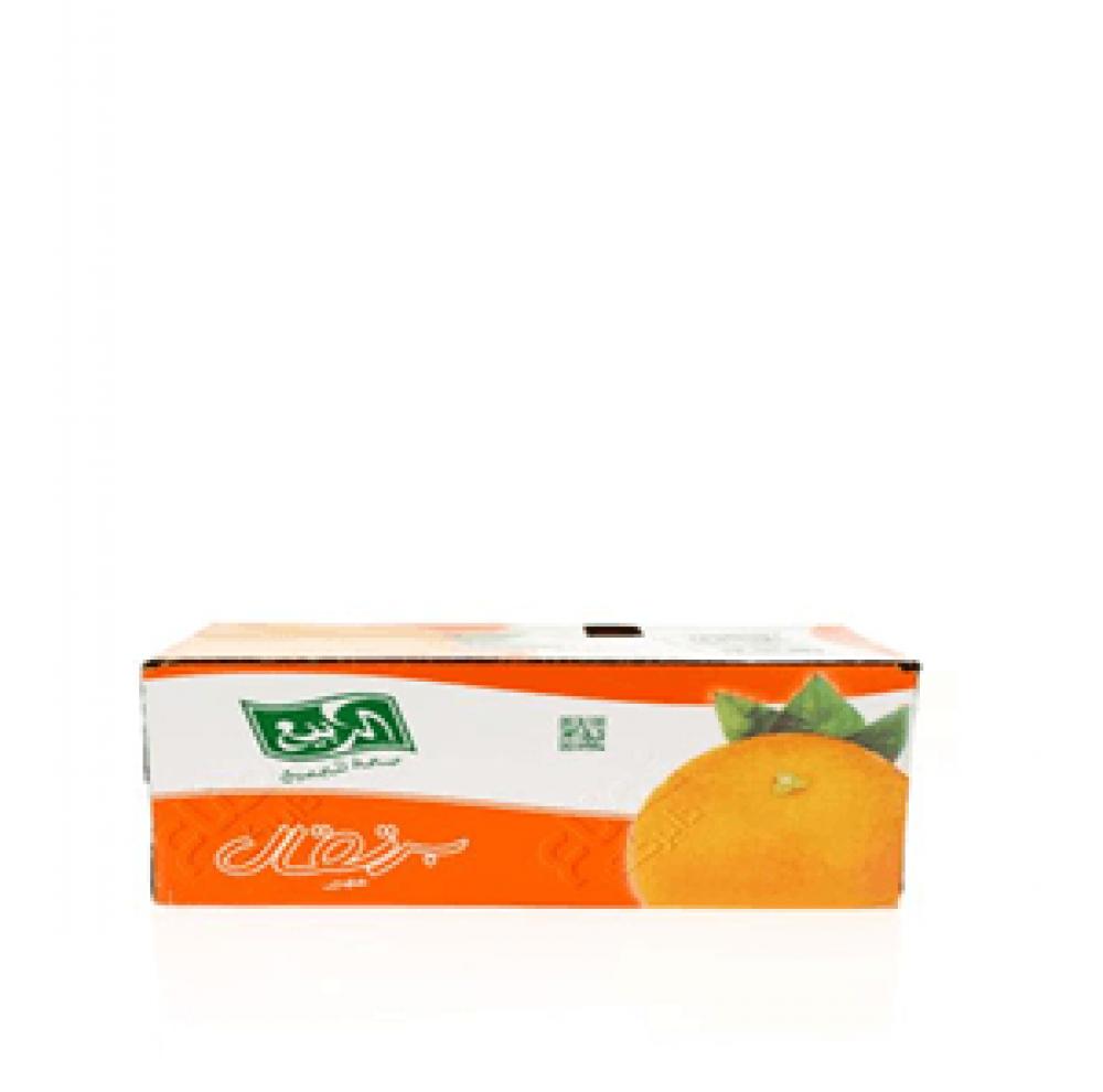 كرتون عصير الربيع برتقال 18 حبة 330 مل وئام هايبر ماركت
