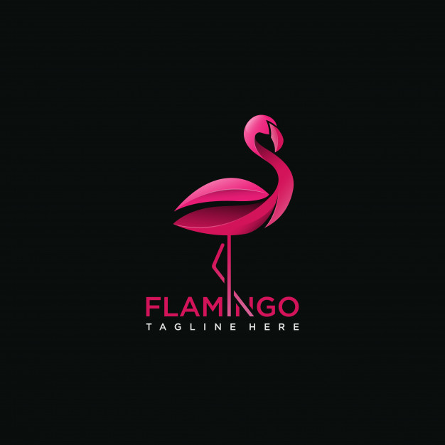 Feather-Flamingo