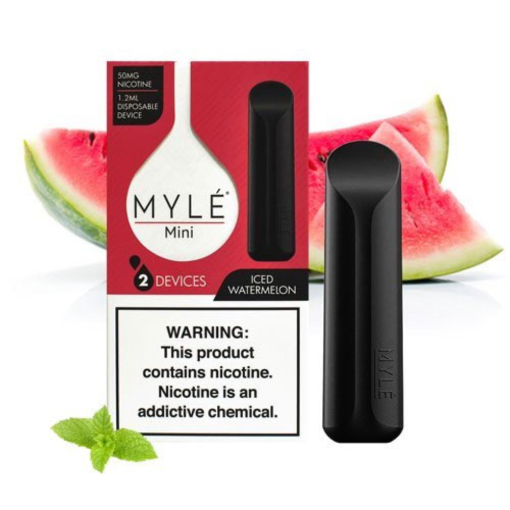 MYLE Mini ICED WATERMELON مايلي ميني ايس بطيخ
