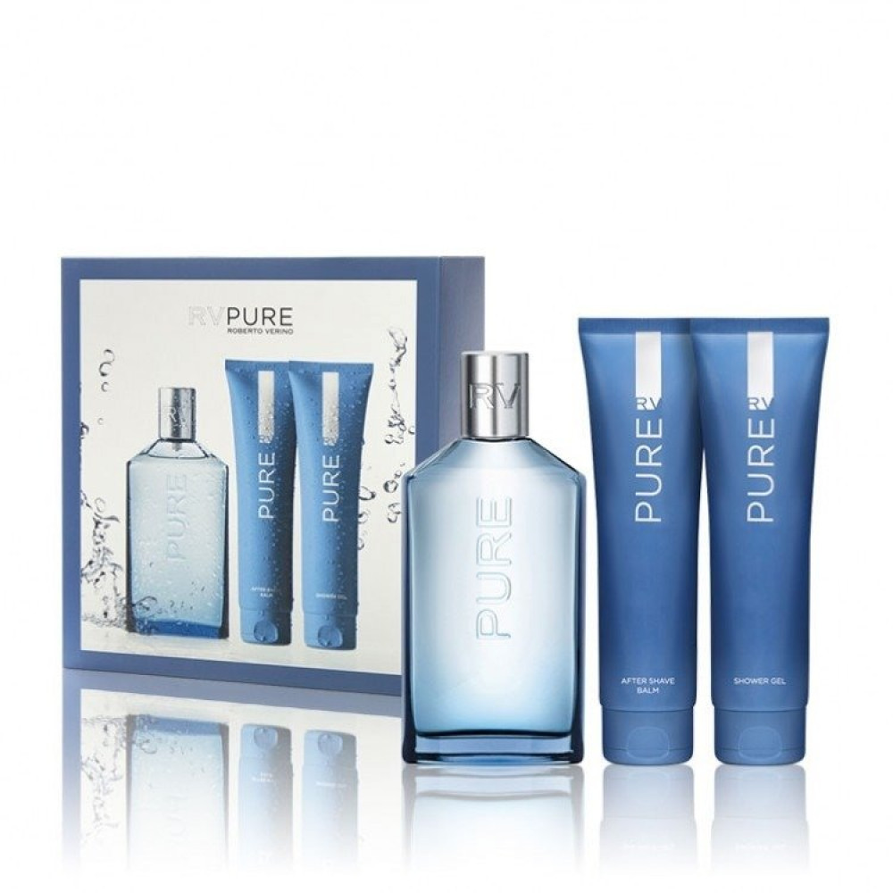 Roberto Verino RV Pure Eau de Parfum 3 Gift Set متجر خبير العطور