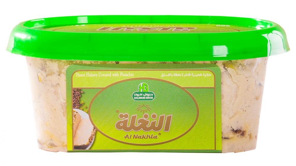 حلاوة موجهه بالفستق 250جرام Halwa covered pistachio