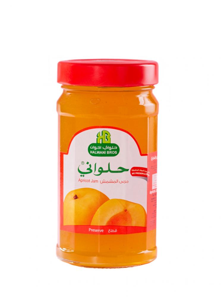 مربى المشمش قطع 400 جرام Apricot preserve Jam