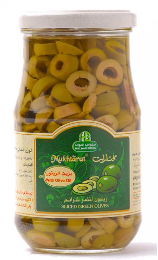 زيتون اخضر شرائح 325 جرام Green Slice Olive