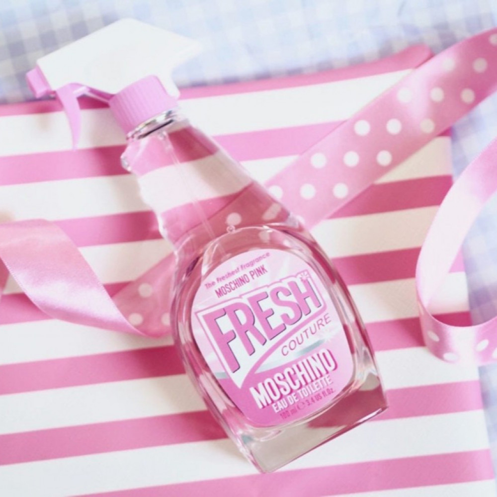 عطر موسكينو فريش الوردي moschino pink fresh perfume