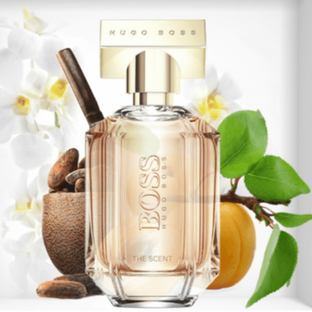 عطر بوس ذا سينت  boss the scent for her perfume