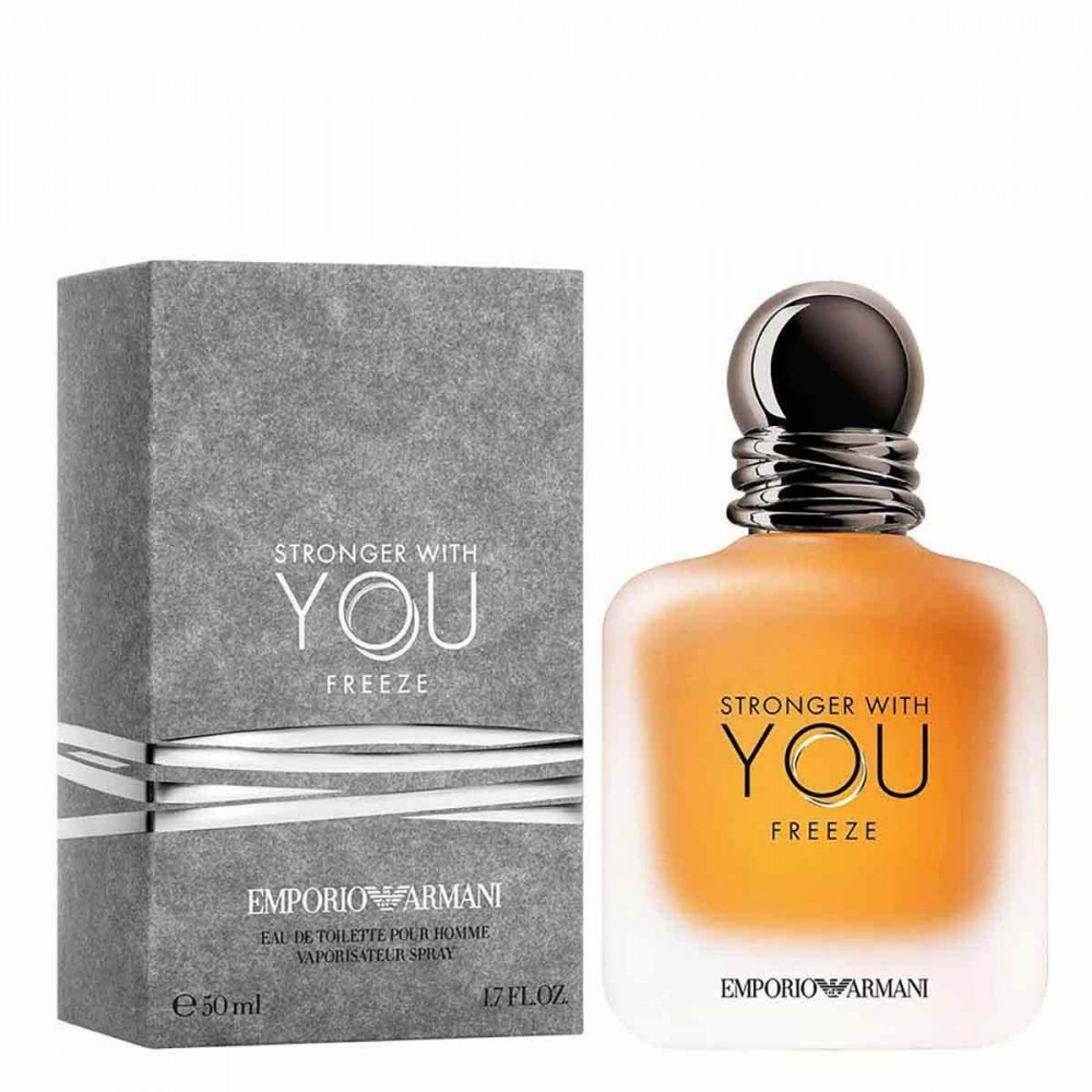 عطر ارماني سترونجر وذ يو فريز armani stronger with you freeze parfum