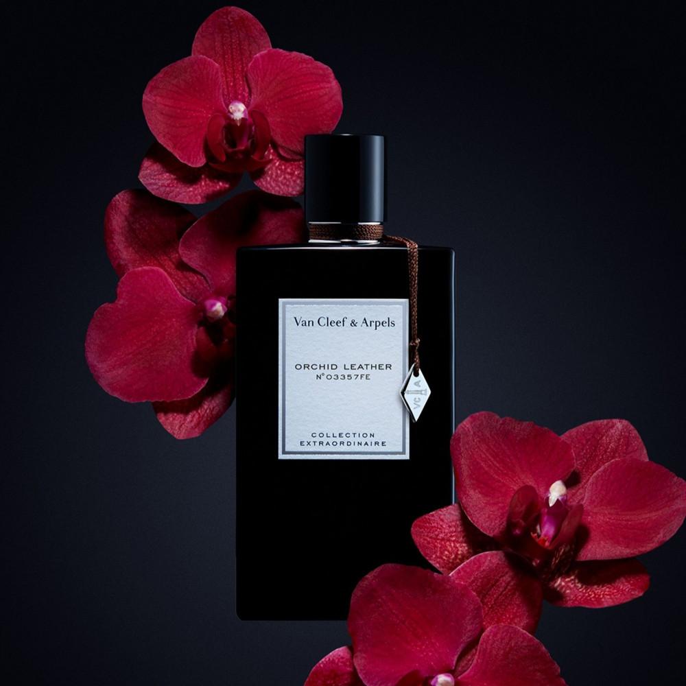 عطر فان كليف اوركيد ليذر van cleef arpels orchid lether parfum