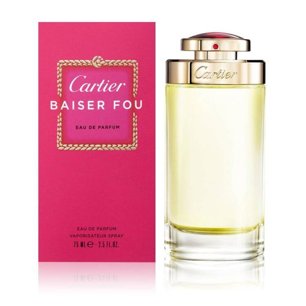 عطر كارتير بيزيه فو Cartier Baiser fou parfum
