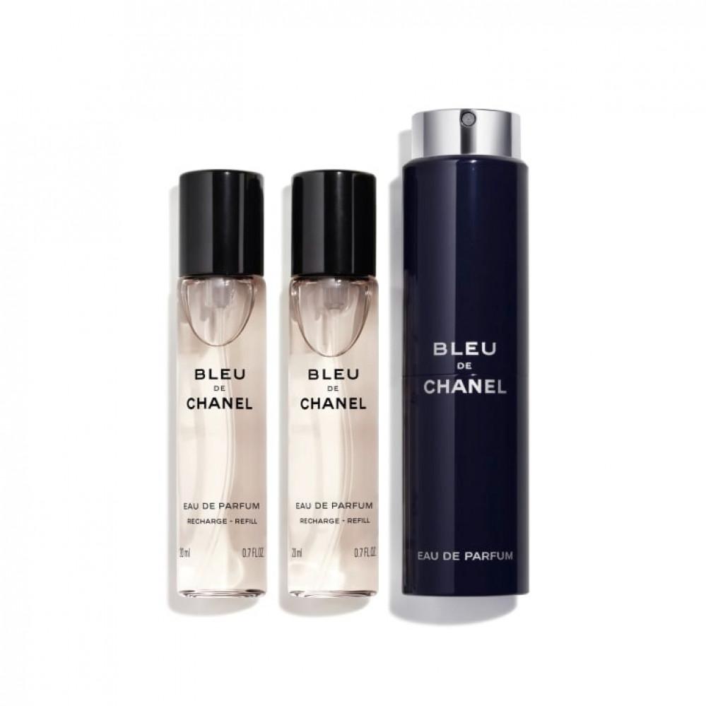 طقم عطور بلو شانيل برفيوم perfume set bleu chanel parfum