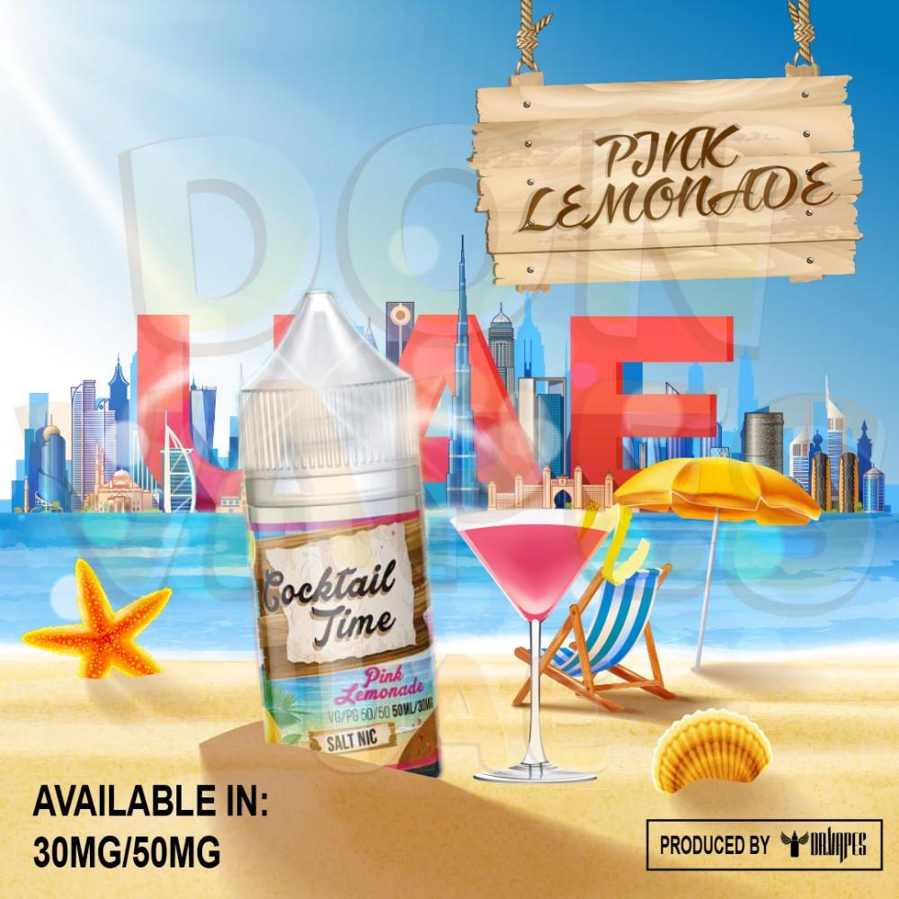 DR VAPES - Cocktail Time Series Pink Lemonade -  Salt Nicotine