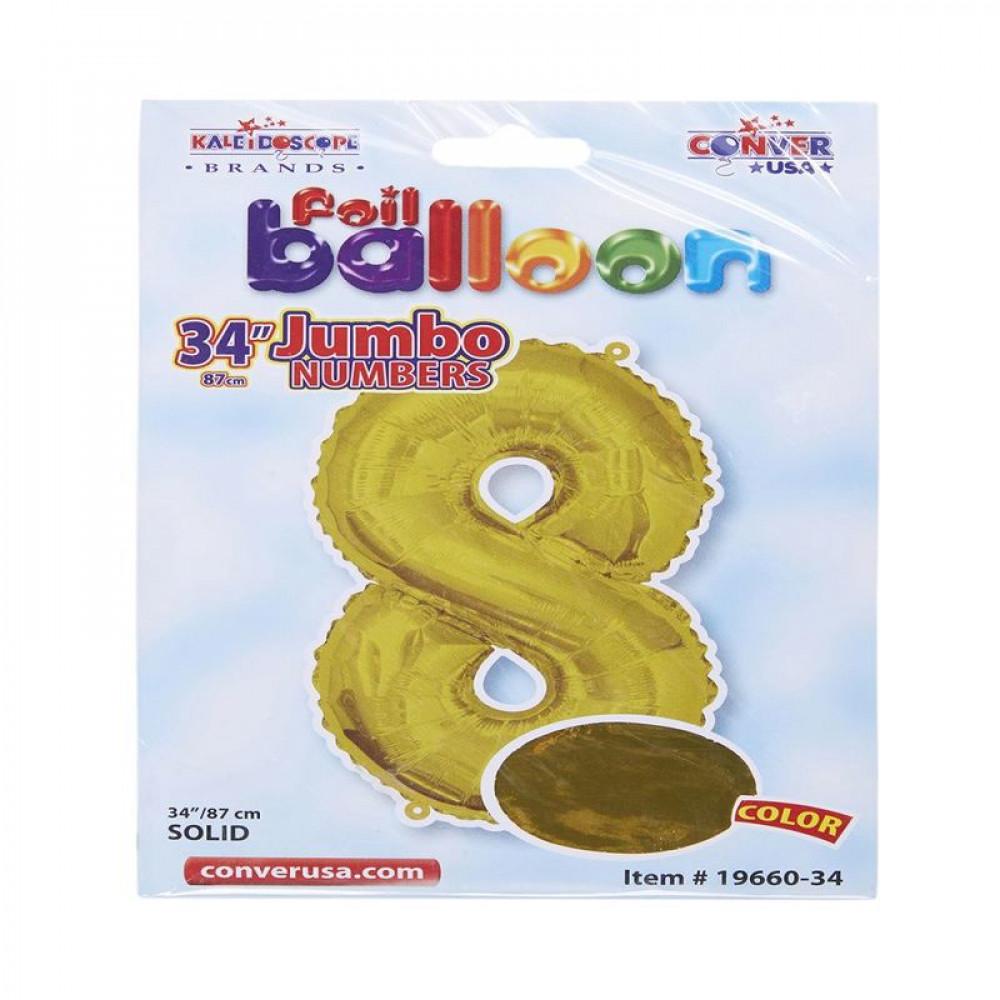 بالون ذهبي, بالون رقم 8, Golden Balloon, بلونات أرقام