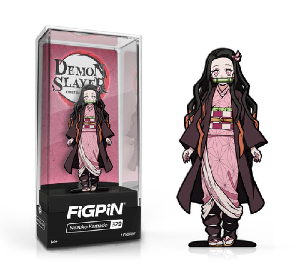 FiGPiN Classic Demon Slayer  Nezuko Kamado 379 FiGPiN Common