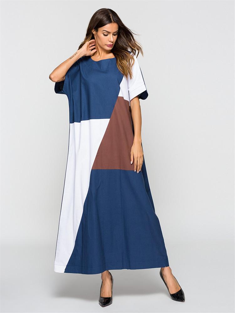 فستان طويل نسائي
